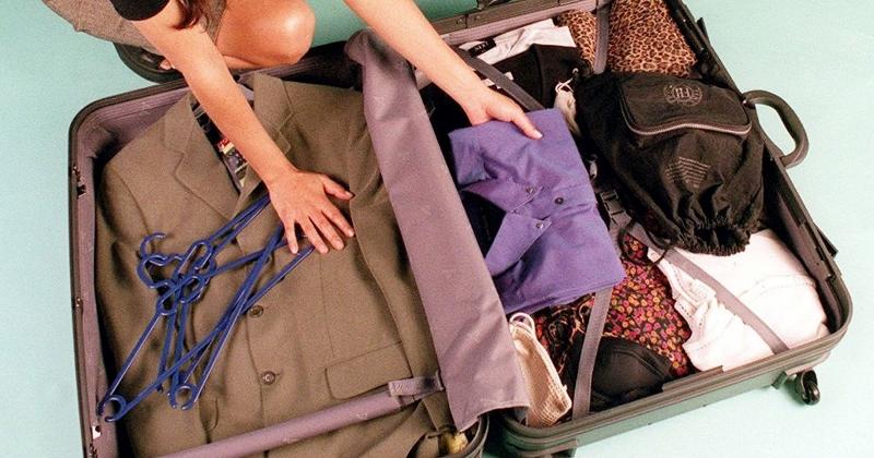 Organización de la maleta