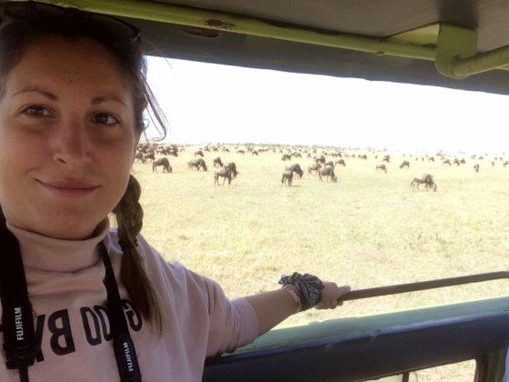 Paula en Masai Mara. Por Paula
