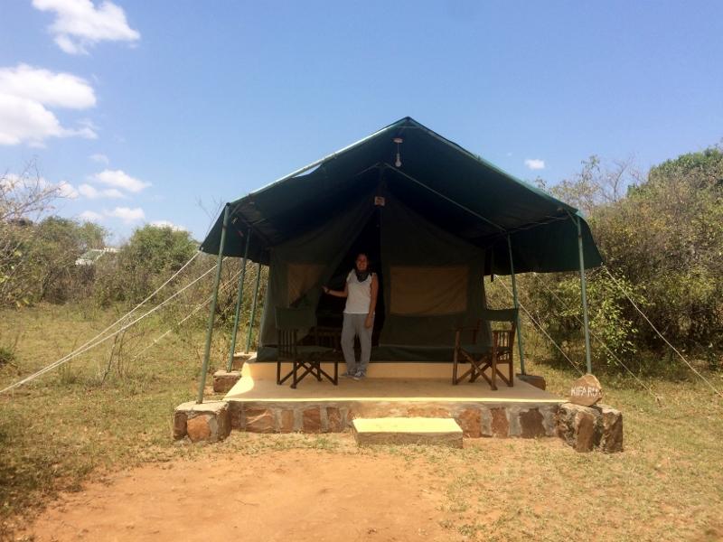Alojamiento en Masai Mara. Por Paula