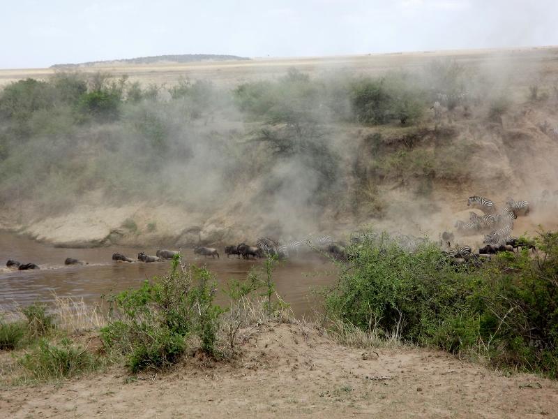 Cruce del río Mara. Por Paula