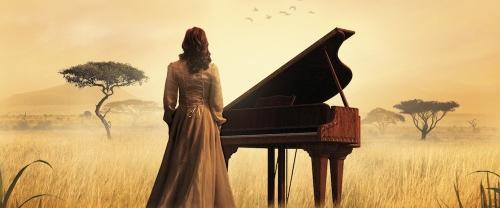 Un piano la para los masais