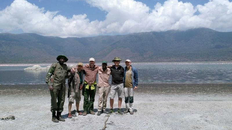 Visitando el cráter de Empakai. Por Eduardo
