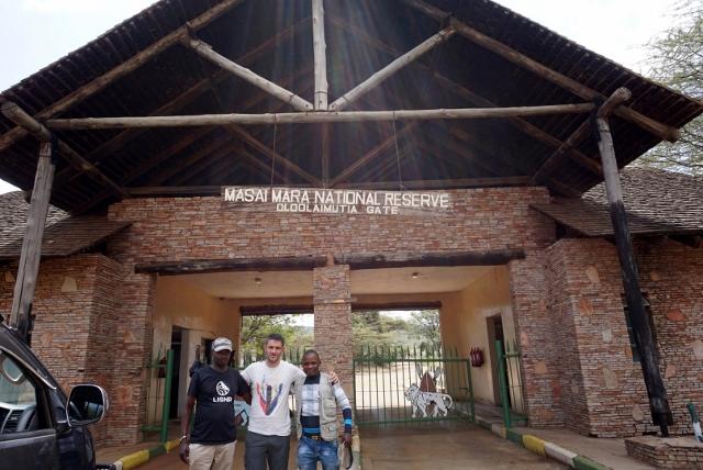 Entrada Masai Mara. Por Isabel