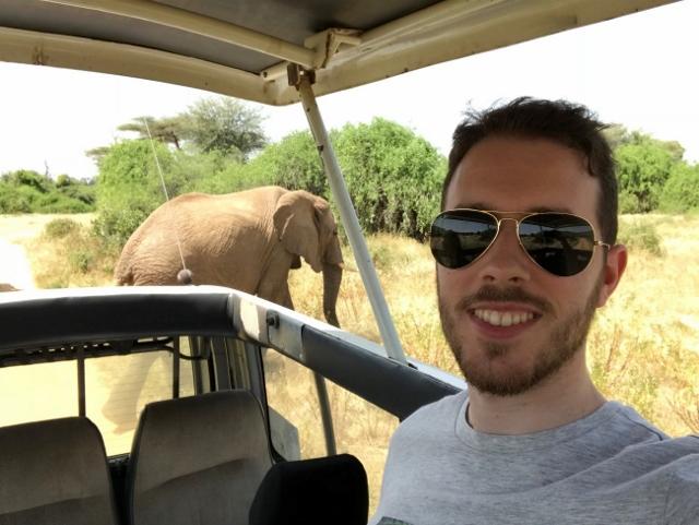 De safari por Samburu. Por Aurora