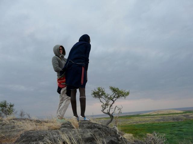Descubriendo Natron con los masai. Por Montse