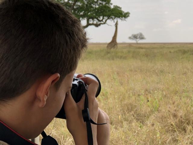 Disfrutando de un safari. Por Francesc