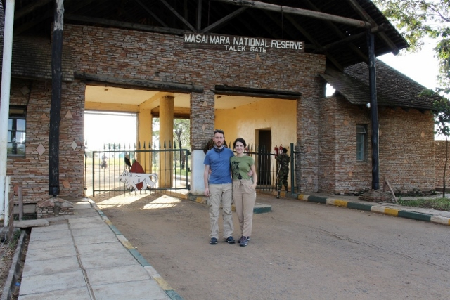 Entrada Masai Mara. Por Jose Carlos
