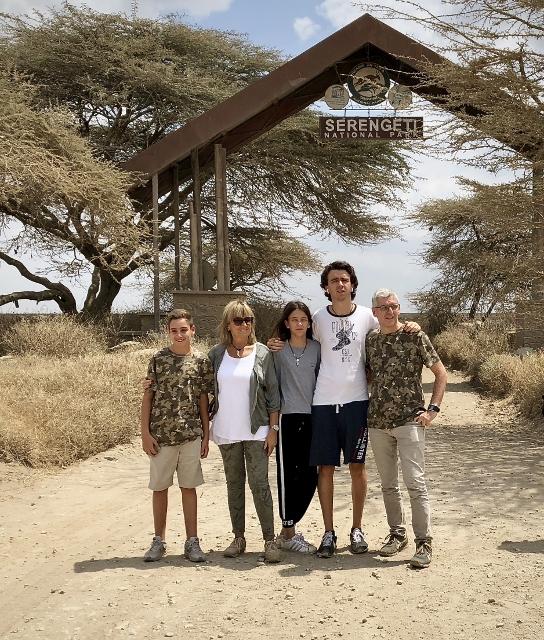 Entrando en Serengeti. Por Francesc