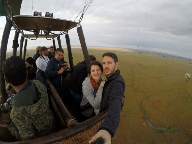 Paseo en globo en Masai Mara. Por Jose Carlos