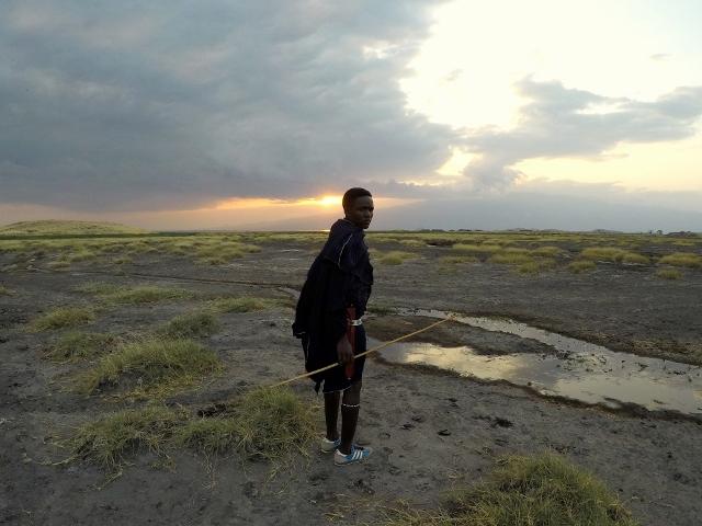 Tierras masais. Por Montse