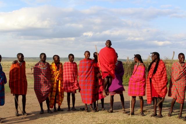 Visita a poblado masai. Por Jose Carlos