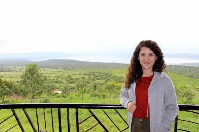 Vistas hotel de Nakuru. Por Jose Carlos