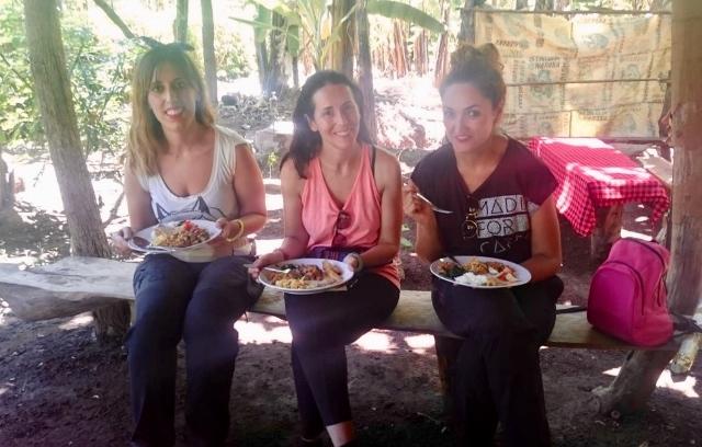 Comida local en Mto Wa Mbu. Por Noelia