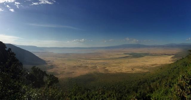 Crater de Ngorongoro. Por Noelia