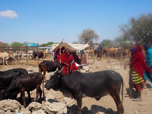 Mercado local de Mto Wa Mbu