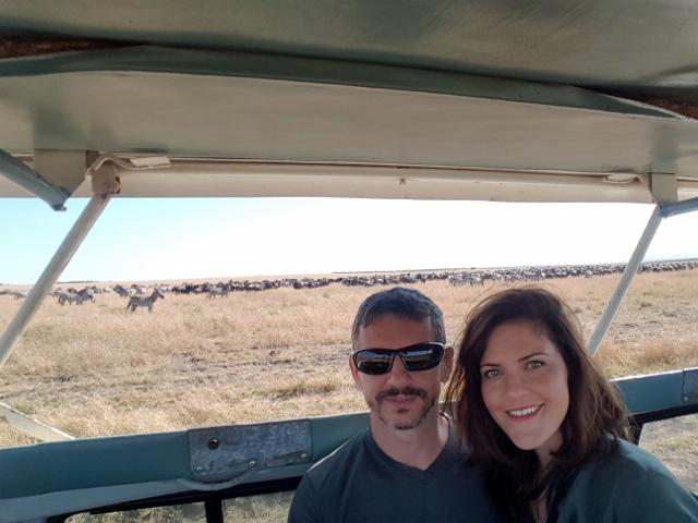 En Masai Mara. Por María