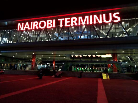 Estación de tren de Nairobi, Kenia. Por Udare