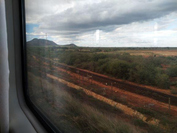 Tren lunático, Kenia. Por Udare