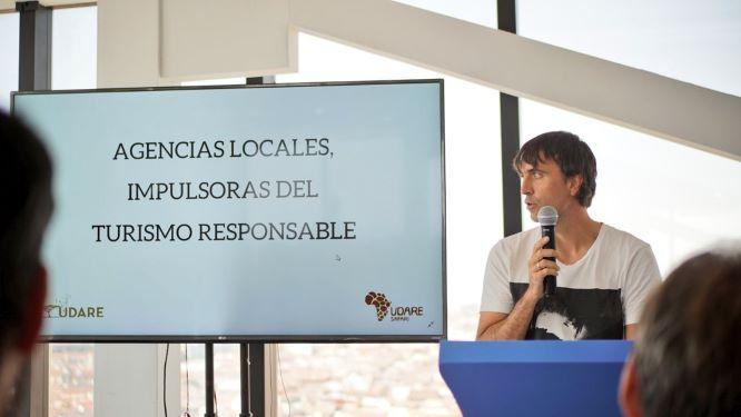 Aitor Urdaniz ponente y cofundador de Udare. Por Viajes con Humor