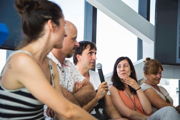 Ronda de preguntas durante el primer bloque del seminario. Por KLM