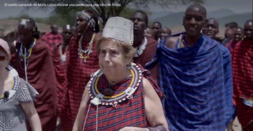 Despedidas, dejando atrás a nuestros amigos masais