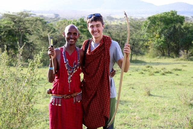 Conociendo a los masais. Por Marc