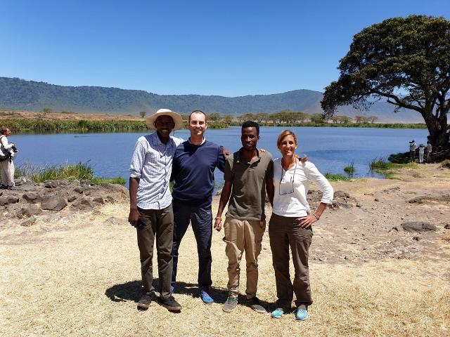 Foto de equipo en Ngorongoro. Por Pablo
