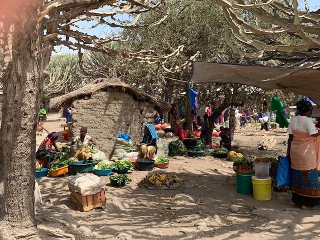 Mercado de Mto Wa Mbu. Por Teresa
