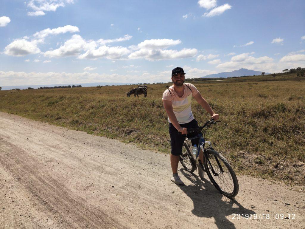 Paseo en bici en Hells Gate. Por María