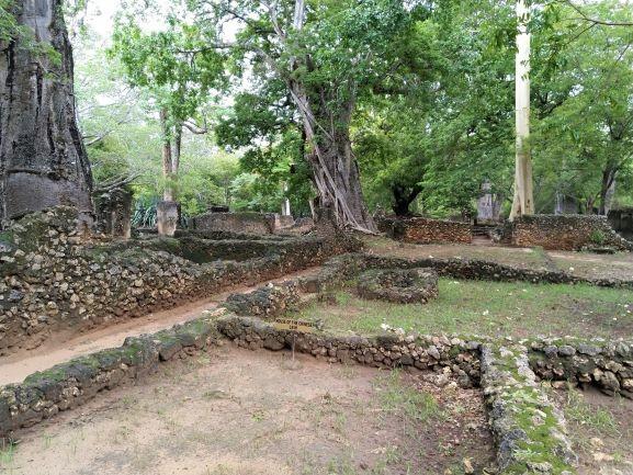 Casas en Ruinas de Gede. Por Udare