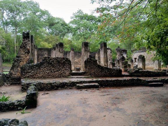 Ruinas de Gede. Por Udare
