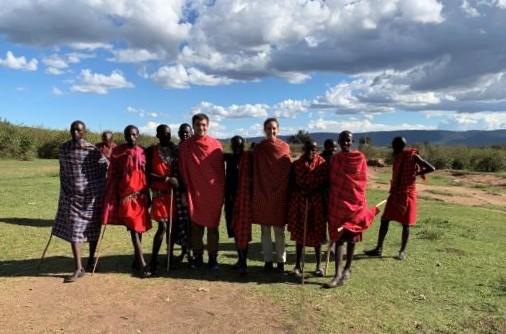 Visita a poblado Masai. por Maritxu