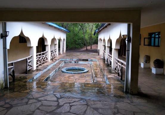 Zona exterior del Museo en las Ruinas de Gede. Por Udare