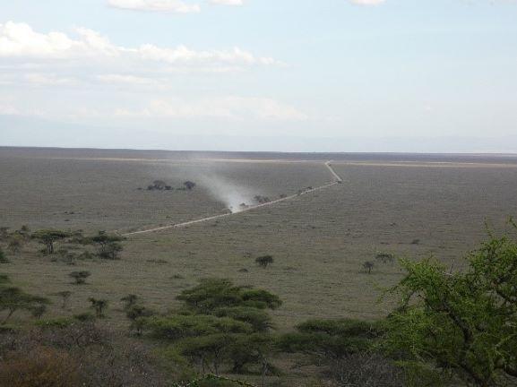 Paisaje Parque Nacional Serengeti. Por Suso y Anabel