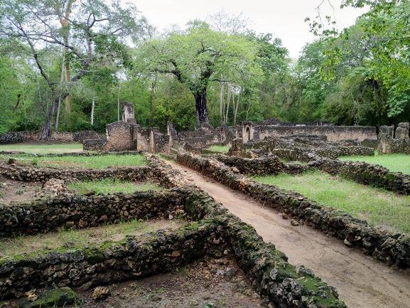 Ruinas de Gede en el bosque Arabuko-Sokoke. Por Udare