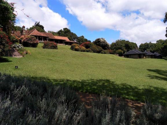 Algunas de las instalaciones del hotel Aberdare Country Club. Por Udare