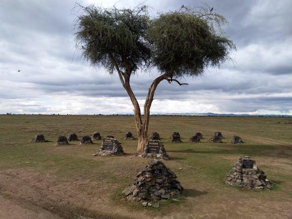 Cementerio de rinocerontes en Ol Pejeta Conservancy. Por Udare
