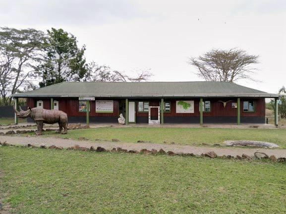 Centro informativo en Ol Pejeta Conservancy. Por Udare
