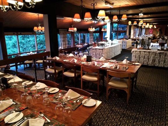 Restaurante hotel The Ark en Aberdare. Por Udare