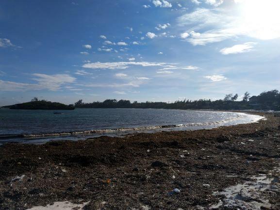 Playa de la Barracuda en Watamu. Por Udare