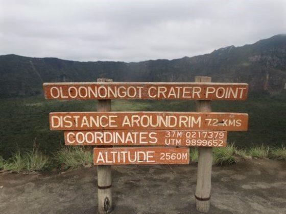 Parque Nacional Longonot. Por Udare