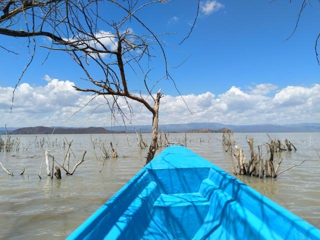 Paseo en barca en Baringo. Por Udare