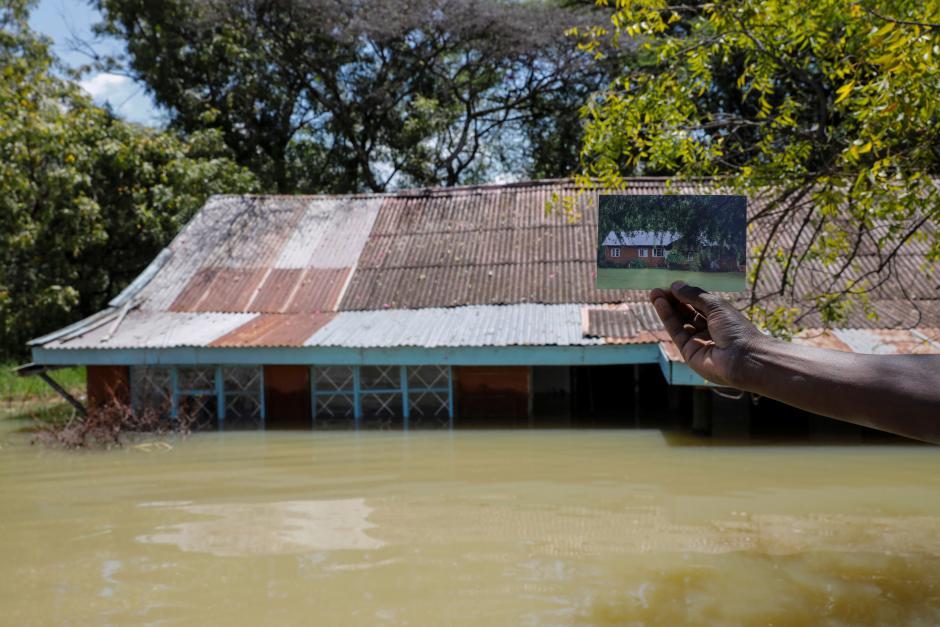 Baringo inundaciones. Por Reuters