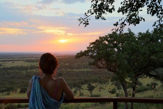 Puesta de sol en Serengeti. Por Carmen