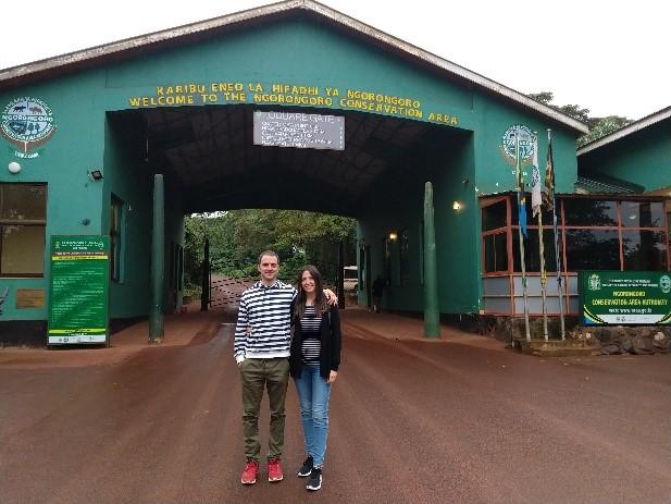 Entrada de Ngorongoro. Por Zuhaitz