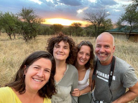 4 amigos, un destino, Tanzania. Por Anna