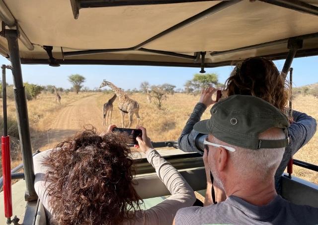 Durante el safari. Por Anna