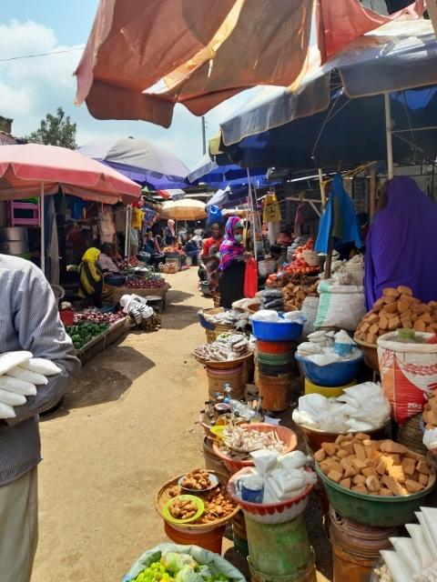 Mercado de Arusha. Por Marisa y Jose