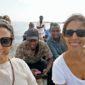 Adriana y Judith en lago Victoria. Por Adriana