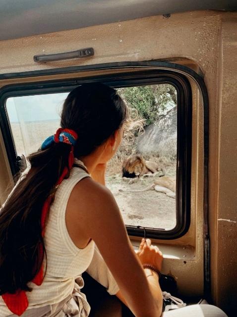 De safari en Serengeti. Por Laura